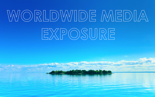 Worldwide media exposure